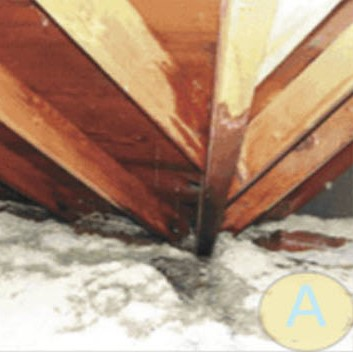 Insulation Damage from Roof Ice Dams