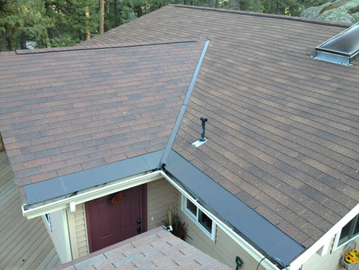Shingle Roof Ice Melting System Installation