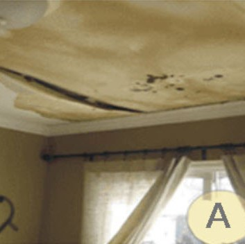 Water Damage from Ice Dams